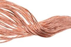 Alambre de cobre Imagen de archivo