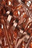 Alambre de cobre del pedazo Foto de archivo libre de regalías
