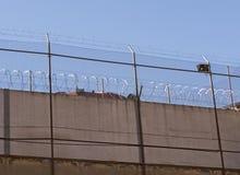 Alambre del warb de la prisión Foto de archivo