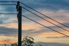 Alambre eléctrico foto de archivo libre de regalías