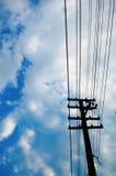 Alambre eléctrico Fotos de archivo
