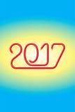 Alambre eléctrico 2017 feliz - JAK-2 Fotos de archivo