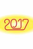 Alambre eléctrico 2017_JAK-3 feliz Fotos de archivo