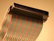 Alambre II del ordenador imágenes de archivo libres de regalías