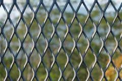 Alambre Mesh Fence Fotos de archivo libres de regalías