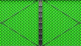 Alambre Mesh Gates ilustración del vector