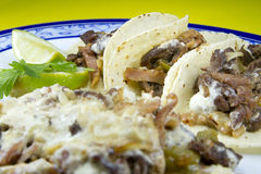 Alambre Mexican Dish Stock Image