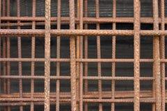 Alambre oxidado imagen de archivo libre de regalías