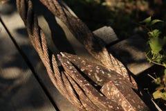 Alambre oxidado Foto de archivo
