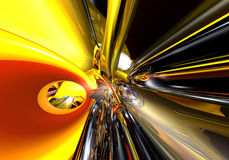 Alambres 02 de Red&yellow Imagen de archivo libre de regalías