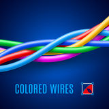alambres Fotos de archivo