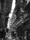 Alambres, callejón, Guangzhou clásico Foto de archivo libre de regalías