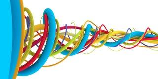Alambres coloridos Fotografía de archivo libre de regalías