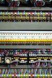 Alambres del color en un rectángulo Foto de archivo libre de regalías
