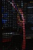 Alambres dentro del ordenador Imagen de archivo