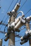 Alambres eléctricos Foto de archivo