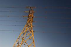 Alambres eléctricos Fotografía de archivo