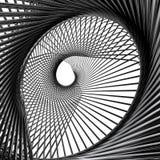 Alambres metálicos abstractos ilustración del vector