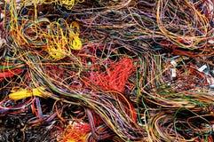 Alambres multicolores Fotografía de archivo libre de regalías