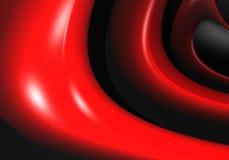 Alambres rojos stock de ilustración