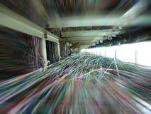 Alambres y cable Fotos de archivo libres de regalías