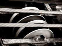 Alambres y ruedas Imagenes de archivo