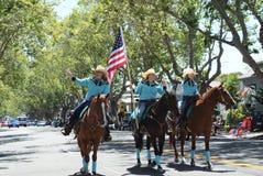Alameda 4ème de défilé de juillet Photos libres de droits
