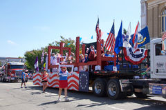 Alameda 4ème du défilé 2017 de juillet Images stock