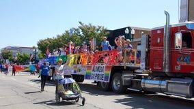 Alameda 4-ое парада 2017 в июле стоковые изображения