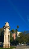 Alameda Albereda column in Valencia Royalty Free Stock Photos