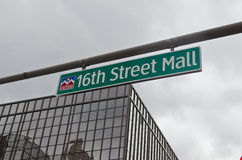 16a alameda da rua Foto de Stock Royalty Free