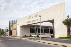A alameda das avenidas em Kuwait, Médio Oriente imagens de stock