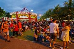 Alameda de Ásia, Manila Imagem de Stock Royalty Free