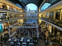 Alameda de Berlín Foto de archivo