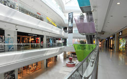 Alameda de compra Imagem de Stock