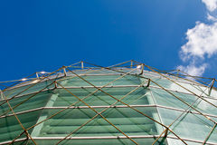 Alameda de compra de vidro do salão Fotos de Stock