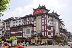 Alameda de compra do chinês tradicional, Shanghai, China fotos de stock royalty free