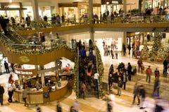 Alameda de compra do feriado Fotografia de Stock
