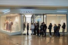 Alameda de compra em Hong Kong Imagem de Stock