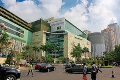 Alameda de compra grande de Indonésia Imagens de Stock
