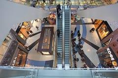 Alameda de compra moderna imagens de stock royalty free