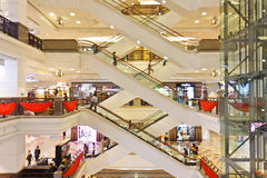 Alameda de compra, Times Square, Malaysia Imagens de Stock