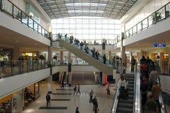 Alameda de compras Fotografía de archivo