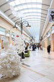 Alameda de compras Fotos de archivo libres de regalías