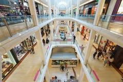 Alameda de compras Fotos de archivo