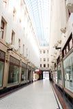 Alameda de compras, bóveda del paso Fotos de archivo