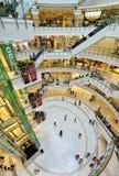 Alameda de compras central del mundo, Bangkok imagen de archivo