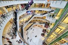 Alameda de compras central del mundo, Bangkok fotografía de archivo libre de regalías