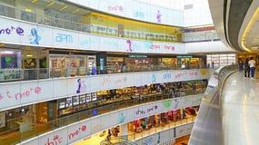 Alameda de compras de Apm, Hong-Kong Imagen de archivo libre de regalías