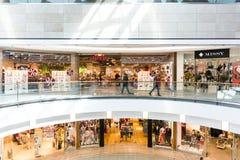 Alameda de compras de Debrecen del foro Fotos de archivo